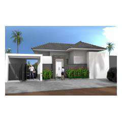 Front Garage - Bali Villa Projects - Own a Holiday Home in Bali - Palm Living Bali