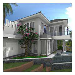 Side View - Bali Villa Projects - Own a Holiday Home in Bali - Palm Living Bali
